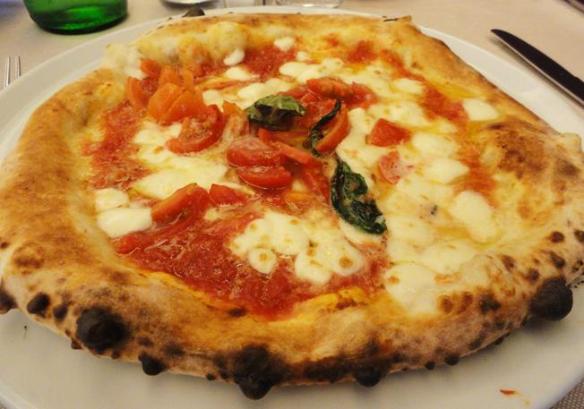 Auguri pizza Margherita!