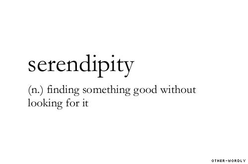 La serendipità esiste