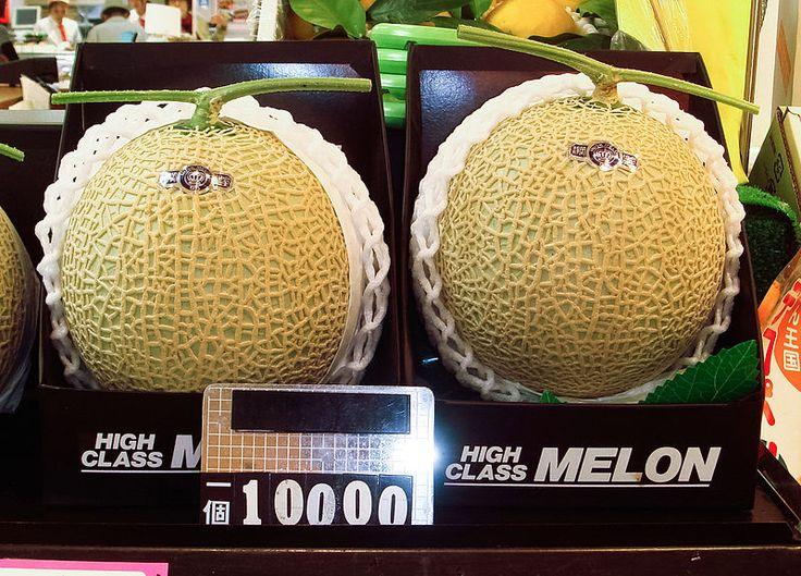 Meloni al prezzo di diamanti