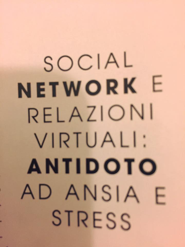 Relazione Social come antidoto all'ansia