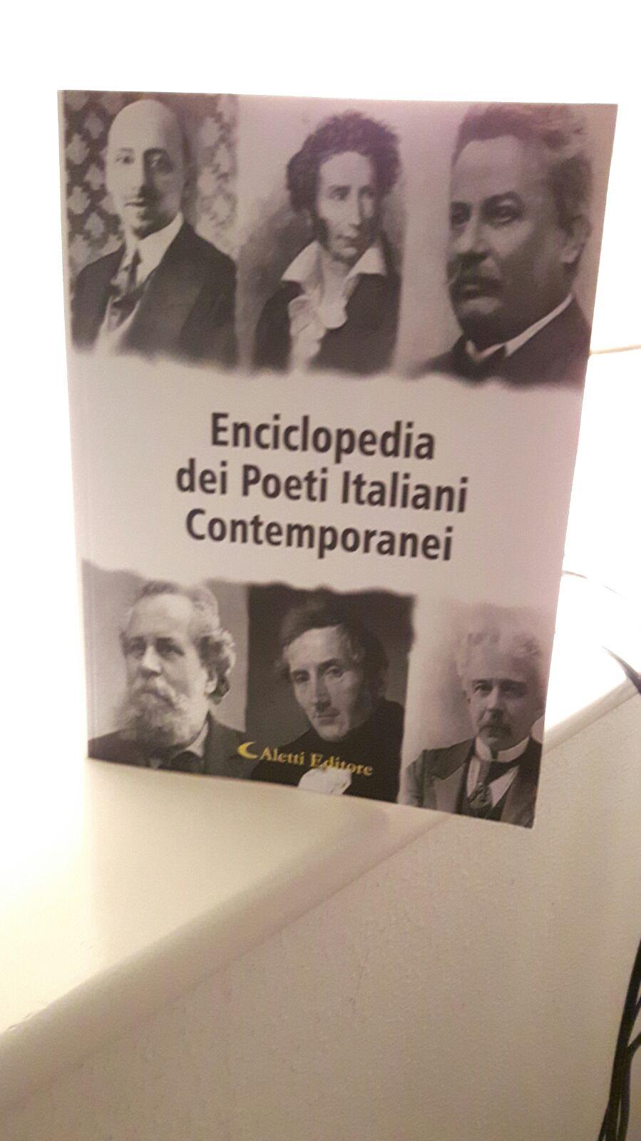 Le poesie della Dott.ssa Gerardina Gonnella inserite nell'Enciclopedia Gonnella inserite nell'Enciclopedia dei Poeti Italiani Contemporanei