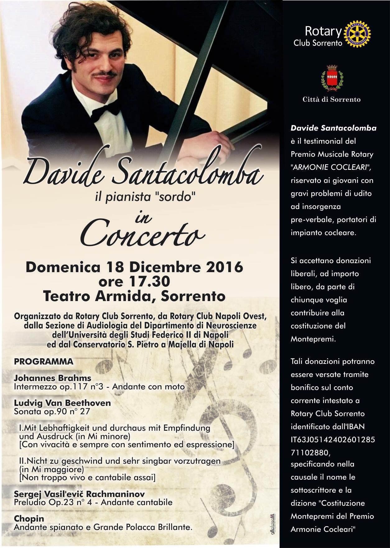 Domenica 18 dicembre appuntamento con la musica