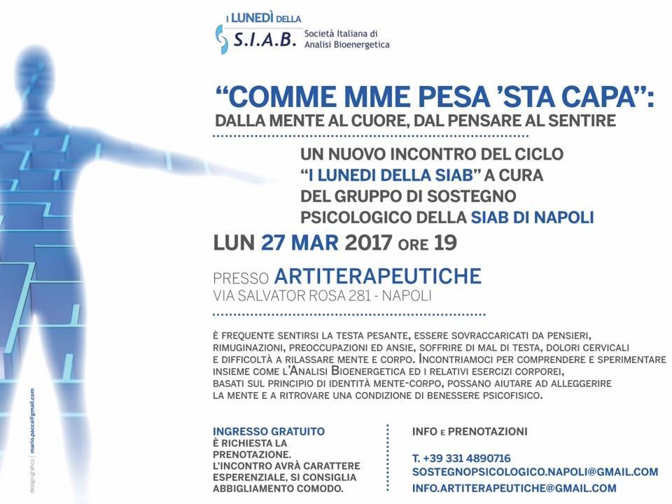 Incontro con la Bioenergetica a Napoli