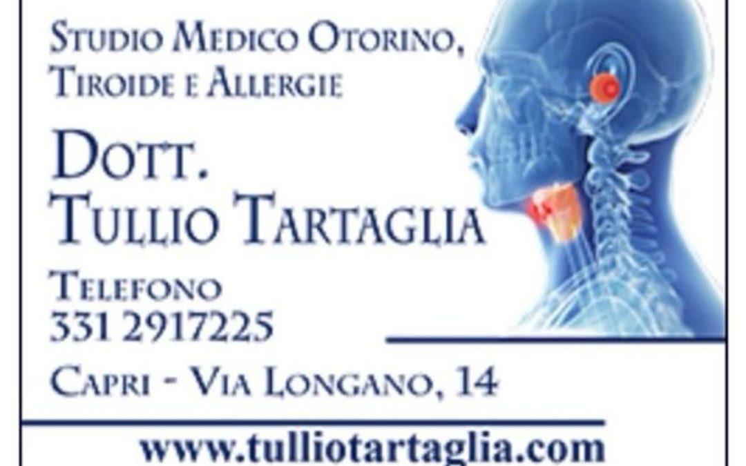 Il Dott. Tartaglia riceve anche a Capri